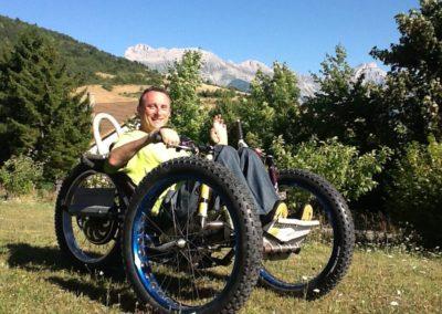 Trike handbike tout-terrain